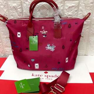 Kate Spade Authentic Overruns (Comes with care card, dust bag, paper bag)
