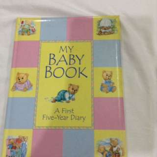 First 5-yr Diary Baby book