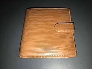 LV Wallet Epi leather brown Louis Vuitton 銀包 啡色 真皮