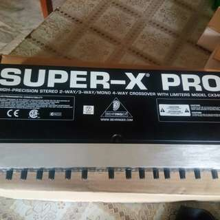 Super x pro Crossover with limiters