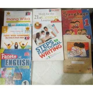Grades 1, 2, 10  Textbooks (K-12)