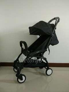 BN Cabin Lightweight Baby Stroller, Black (Instock)