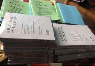 CPA Reviewers and Accouting Textbooks