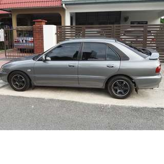 Proton Wira AeroBack1.6 Manual Fuel Injection (UK Spec)