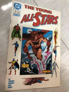 The young All Stars #3 comics