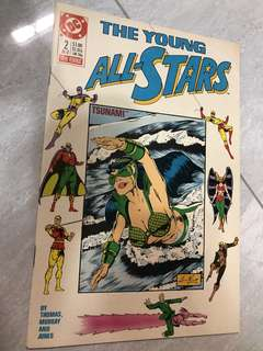 The young All Stars #2 comics