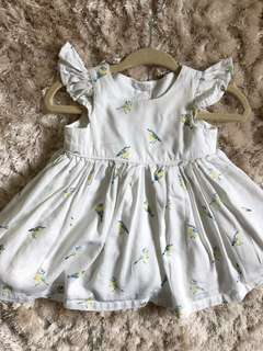 Mothercare baby girl 1 month dress