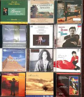 Audiophile easliy listening world music CD