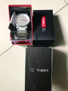 Timex Silver Stainless Steel Watch