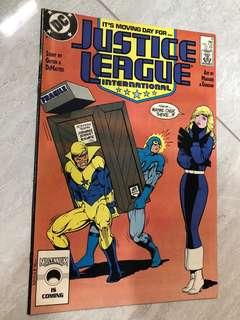 Justice League International comics