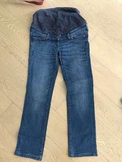 H&M maternity denim jeans