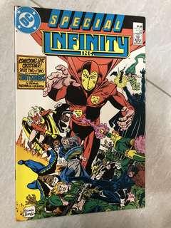 Infinity Inc comics