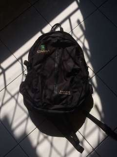 Daypack Consina Black Bagpack