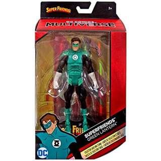 是日精選特價 正義聯盟 綠燈俠 Green Lantern Super Friends DC Multiverse Justice League Batman 6 inch Action Figure