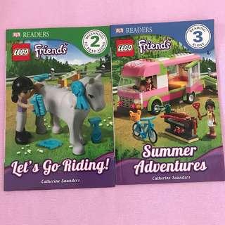 DK Readers Lego Friends Children Story Book
