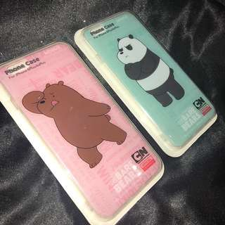 We Bare Bears IPhone Case (PACK OF 2)