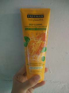 Freeman clay mask + cleanser