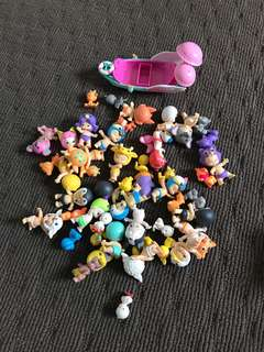 Bulk of Twozies toys