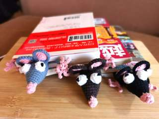Funny bookmarks/Rat bookmark