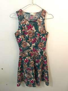H&M Halter Flowery Dress