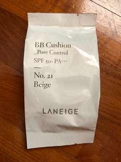 Laneige BB Cushion Pore Control Refill no. 21 beige