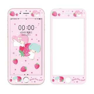 Sanrio little twin star 手機保護貼 mon貼 iPhone 6-x