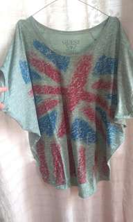 Batwing shirt S fit to L