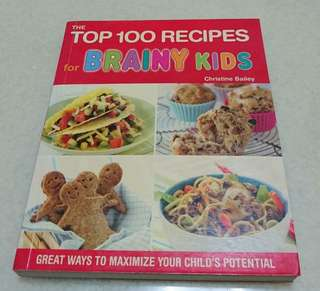 🚚 Top 100 recipes for brainy kids