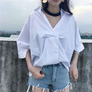 White top long sleeve