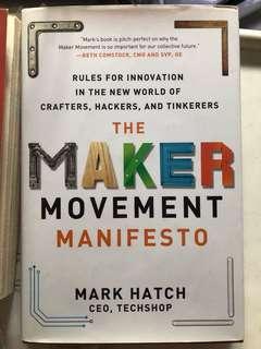 The Maker Makes cement manifesto