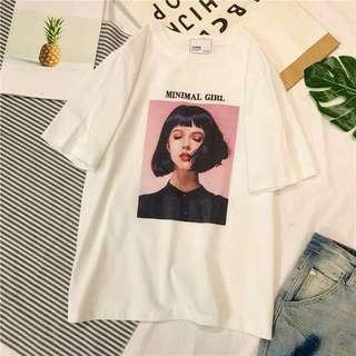 Minimal Girl Shirt