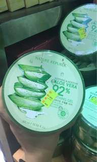 Aloe vera soothing gel 92% nature republic
