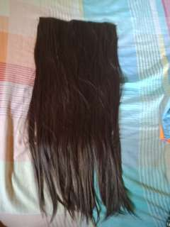 Wig and hair clip extensions (class A)