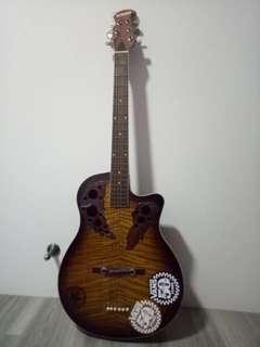 Acoustic Cutaway Guitar Nikko