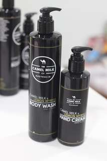 Special promotion - Hand cream and body wash