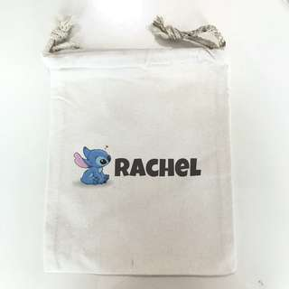 Customisable Drawstring Pouches/ Pencil Case