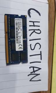 Kingston DDR3L RAM 8gb