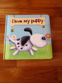 I love my puppy storybook