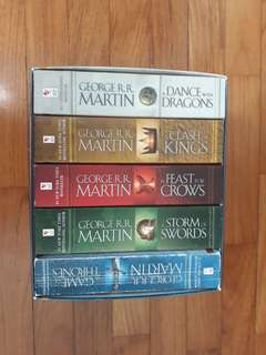 A Song on Ice and Fire (Game of Thrones) book series