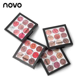 NOVO 9 Color Cream Eyeshadow Palette