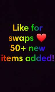 Message for Swaps!