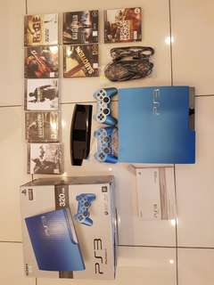 LIMITED EDITION BLUE PLAYSTATION 3