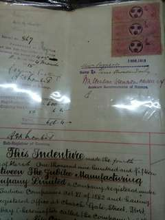 India document stamp