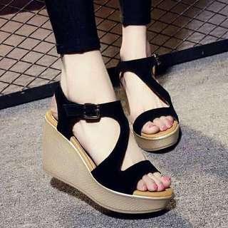 Korean Fashion Wedge Sandals