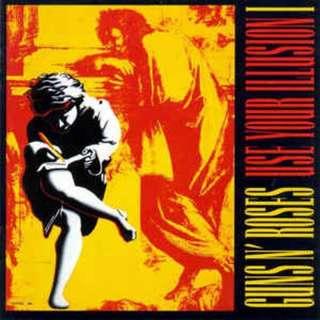 Vinyl Record - Guns N'Roses Use your illusion I Reissue