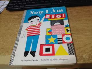 Board book for growing up boy