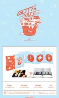 [PREORDER] GOT7s Working EAT Holiday in JEJU