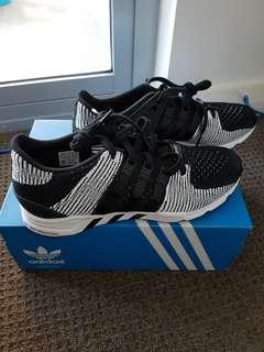 Adidas Originals EQT Support Black White Mens US 10.5