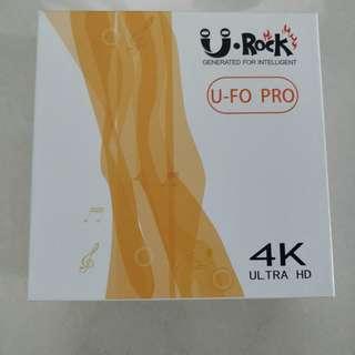 U Rock TV box 4K ultra HD - 2GB RAM