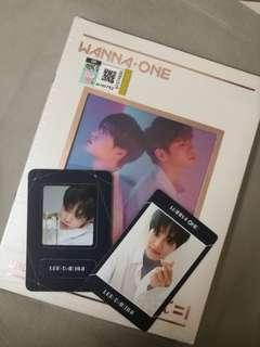 Wanna One 1÷X=1 Undivided Album